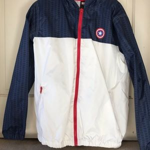 Marvel Captain America Wind Breaker
